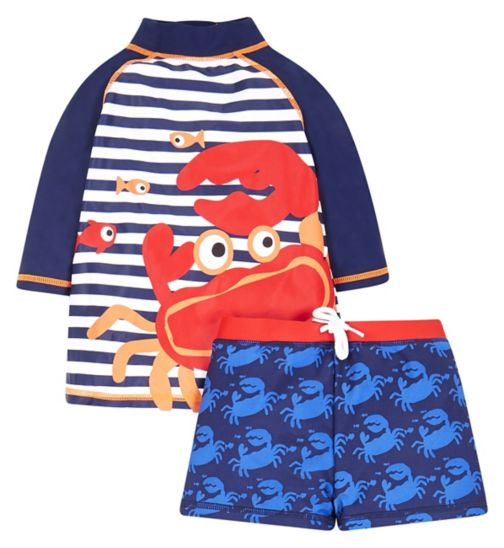 Mini Club Crab Two Piece Set