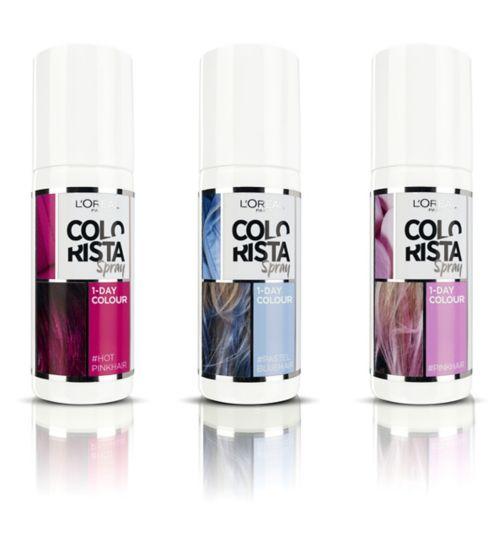1-day spray | L\'Oreal Colorista| L\'Oreal - Boots