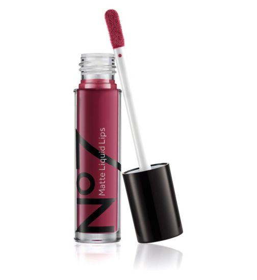 No7 Matte Liquid Lips