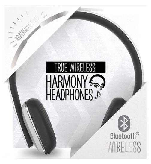 Harmony bluetooth wireless over-ear headphones pearl white