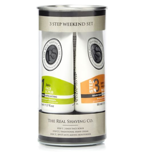 The Real Shaving Co. Mini Weekend Set