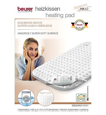 Beurer HK42 Super Soft Luxury Heat Pad