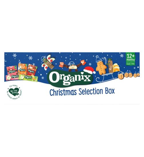 Organix Goodies Selection Box 122g