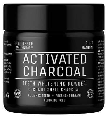 Pro Teeth Whitening Co. Activated Charcoal Teeth Whitening Powder