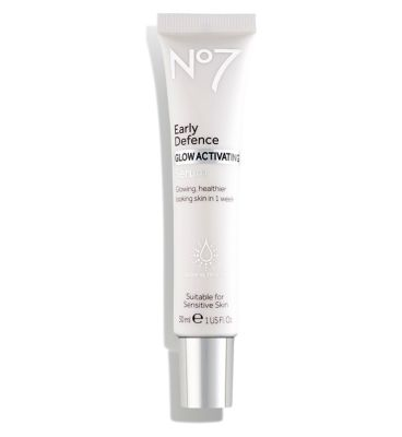 No7 Early Defence Glow Activating Serum 30ml by No7