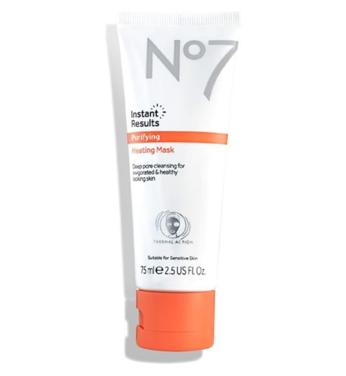 No7 Instant Results Purifying Heating Mask 75ml