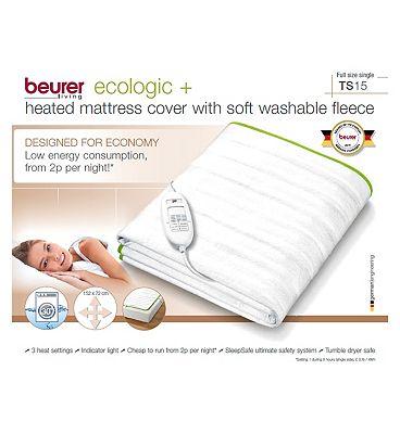 Beurer Ecologic+ Single Heated Blanket