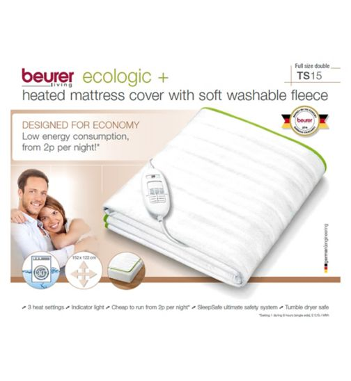 Beurer Ecologic+ Double Heated Blanket