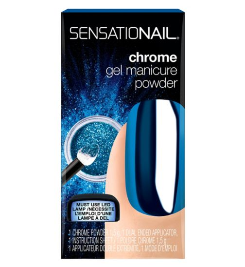 SensatioNail Chrome Powder Blue