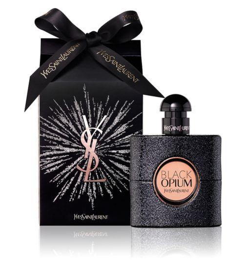 Yves Saint Laurent Black Opium Eau de Parfum 50ml Gift Wrapped