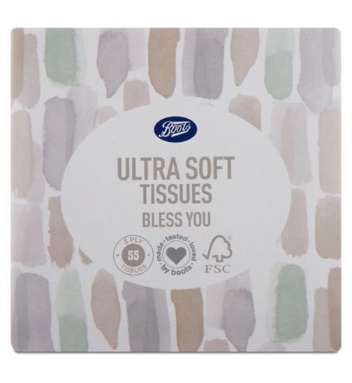 Boots Tissues 2ply Winter Cube 55