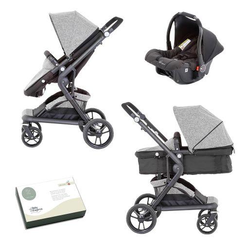 Baby Elegance Mist Travel System Grey