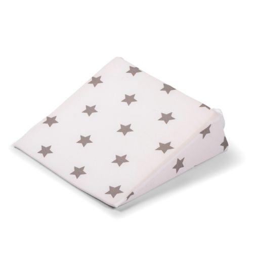 Widgey wedge maternity pillow – silver star