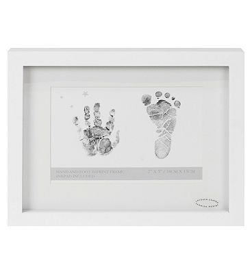 Image of 4x6 Frame With Ink Pad For Hand And Footprint