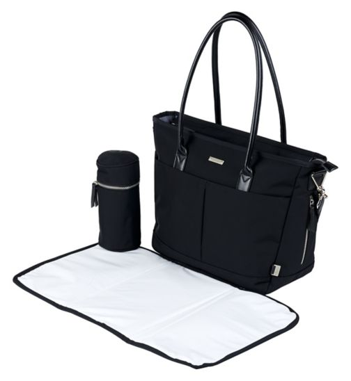 6386531a31a1 Tilly Tote changing bag Black