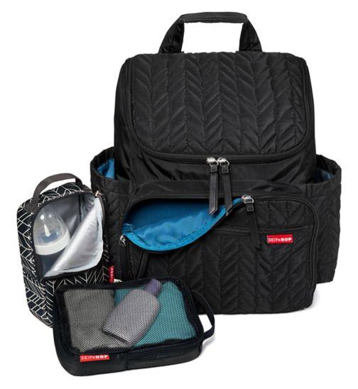 Skip Hop Forma Backpack -Jet Black