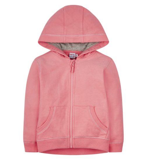 Mini Club Pink Zip Up Hoodie
