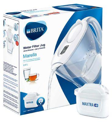 10239966_IS: Brita Maxtra Plus Marella Cool White Jug