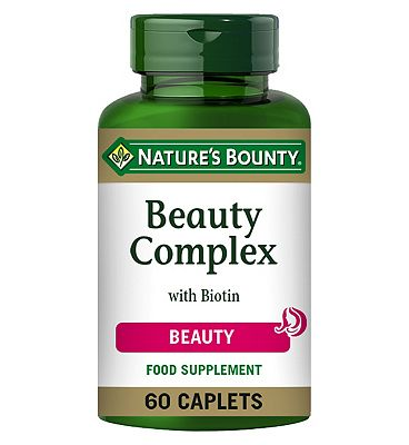 Natures Bounty Beauty Complex with Biotin 60 caplets