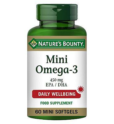 Nature's Bounty Mini Omega-3 450mg Mini