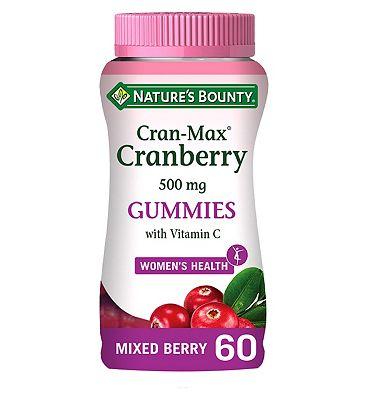 Nature's Bounty Cran-Max Cranberry Gummies 60