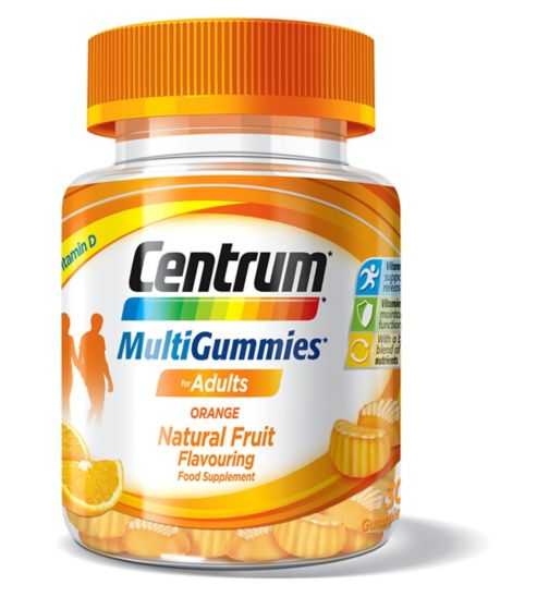 Centrum MultiGummies Orange - 30 Gummies