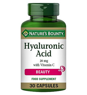 Nature's Bounty Hyaluronic Acid 20mg - 30 capsules
