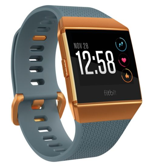 Fitbit Ionic - Slate Blue/Burnt Orange