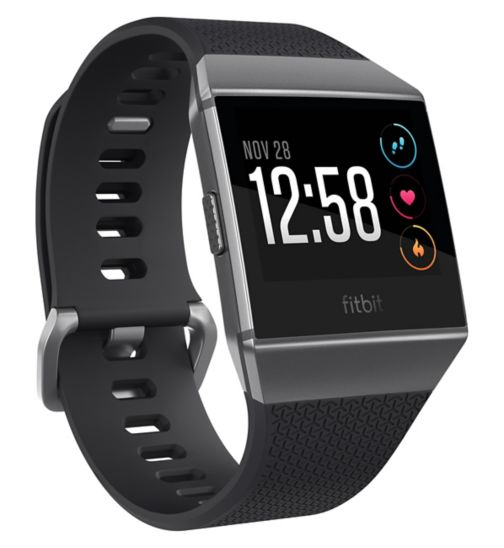 Fitbit Ionic - Charcoal/Smoke Grey