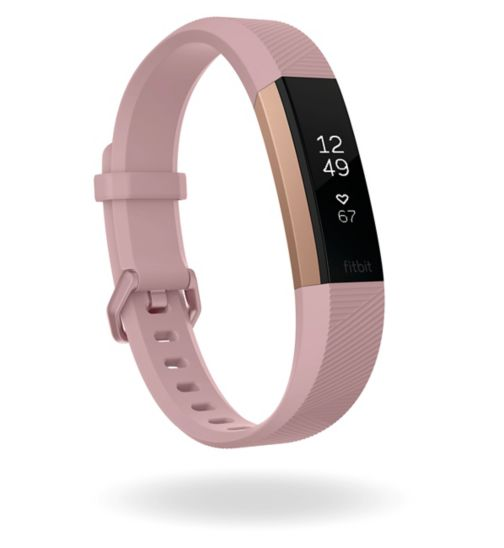 Fitbit Alta HR Special Edition - Pink/22k Rose Gold Plated (Small)