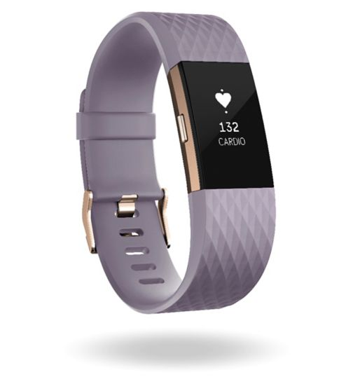 Fitbit Charge 2 Special Edition - Lavender/Rose Gold (Large)