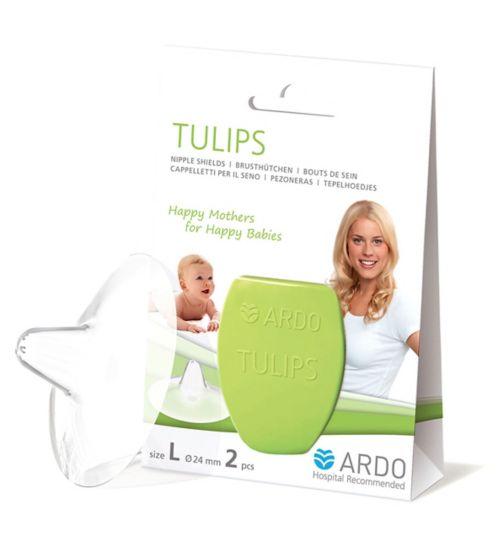 Ardo Tulips Nipple Shields L