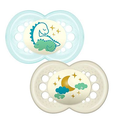 MAM 12+m Night Soother Blue