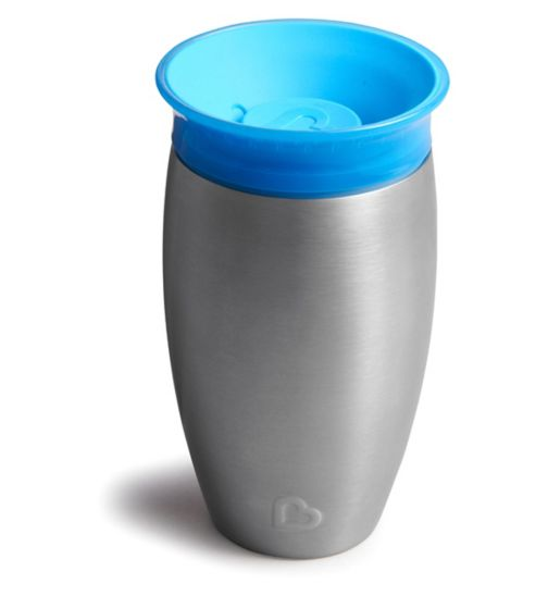 Munchkin Stainless Steel Miracle Cup 10oz - Blue