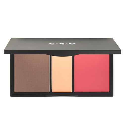 CYO Colour Sculpt Contour, Highlight & Blush Palette