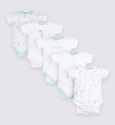 Mini Club Tiny Treasures 5 Pack Bodysuit by Mini Club