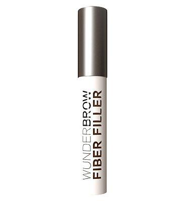 WUNDER2 WUNDERBROW FIBER FILLER Long-Lasting & Conditioning Eyebrow Powder Black/Brown