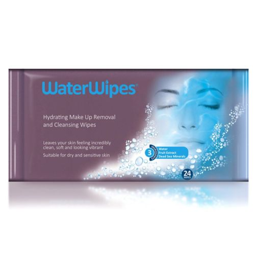 WaterWipes Sensitive Facial Wipes 24s