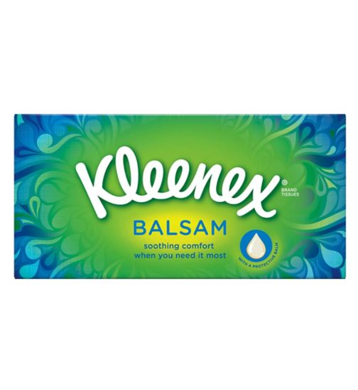 Kleenex Balsam Tissues Single Box
