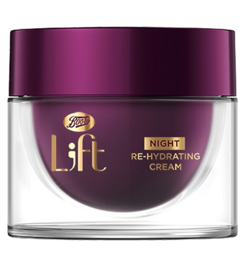 Boots L;ft Sleep On It Night Re-Hydrating Cream 50ml