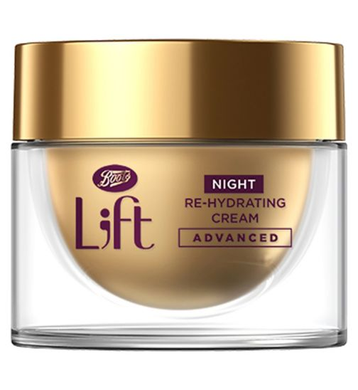Boots L;ft Bounce Back Night Re-Hydrating Cream 50ml