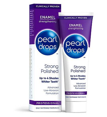 Pearl Drops Strong Polished White Toothpaste 75ml