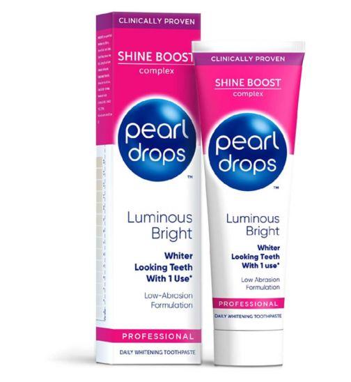 Pearl Drops Luminous Bright White Toothpaste 75Ml