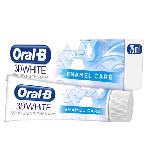 Oral B 3D White Therapy Enamel Care Toothpaste 75Ml