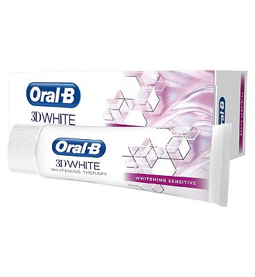 Oral B 3D White Therapy Sensitive Toothpaste 75ml