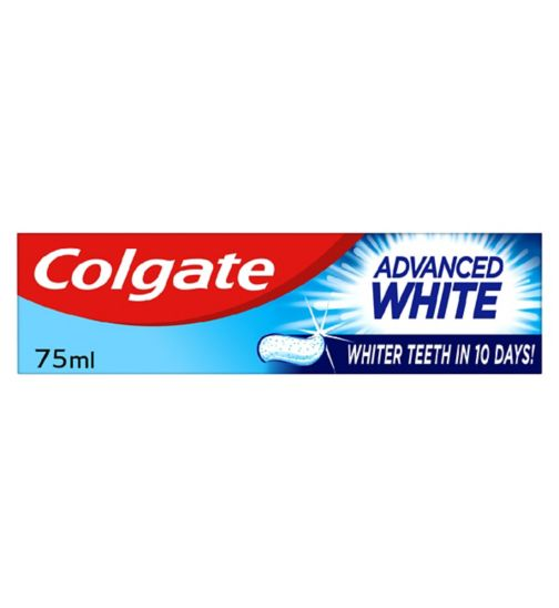 Colgate Advanced White Whitening Toothpaste 75ml