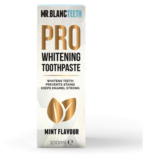 Mr Blanc Teeth Pro Whitening Toothpaste 100ml