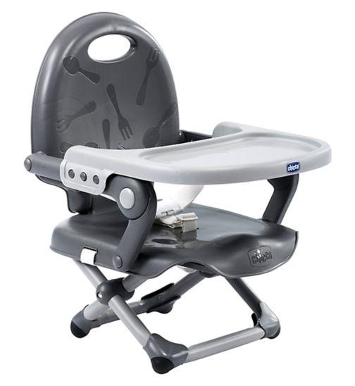Chicco Pocket Snack Dark Grey Booster Seat