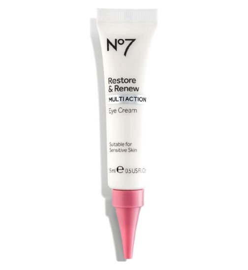 No7 Restore & Renew MULTI ACTION eye cream 15ml