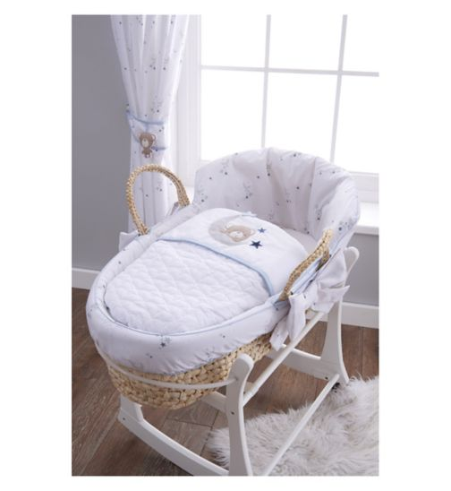 East Coast Little Star Moses Basket